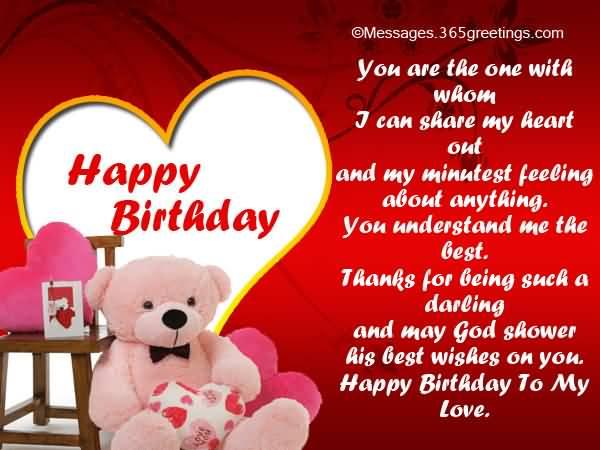 Fantastic Boyfriend Happy Birthday Message