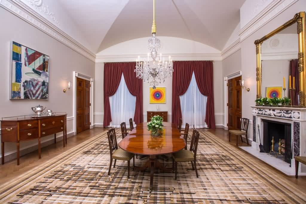 Fantastis Dining Table In Room Inside The White House Photo