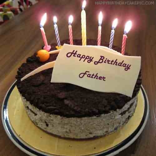 Great Birthday Wishes Cake For Father