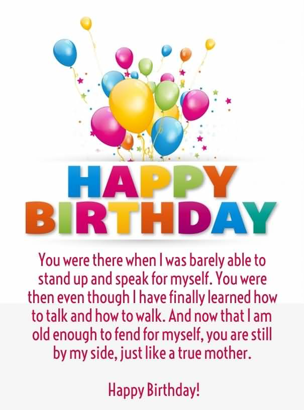 Great Mom Happy Birthday Quotes Picture
