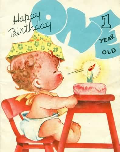 Happy 1st Birthday Happy
