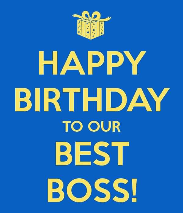 Happy Birthday Boss Wishes Image