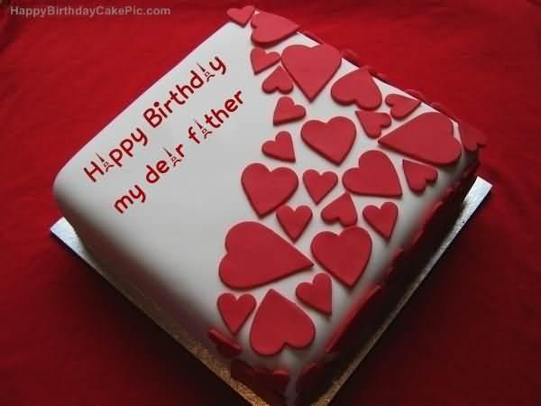 Happy Birthday Cake Wishes To Dearest Father