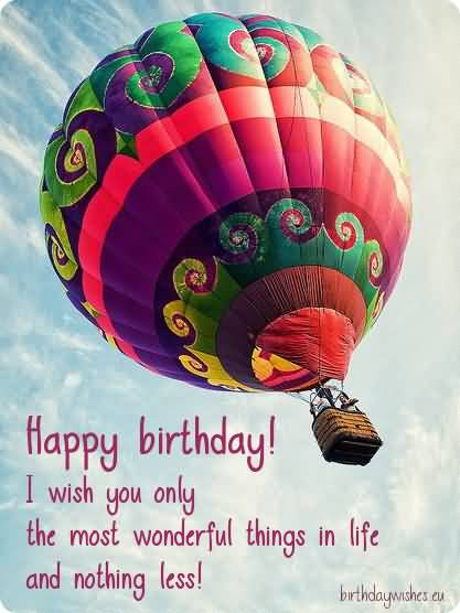 Happy Birthday Colleague I Wish You Only The Most Wonderful Things