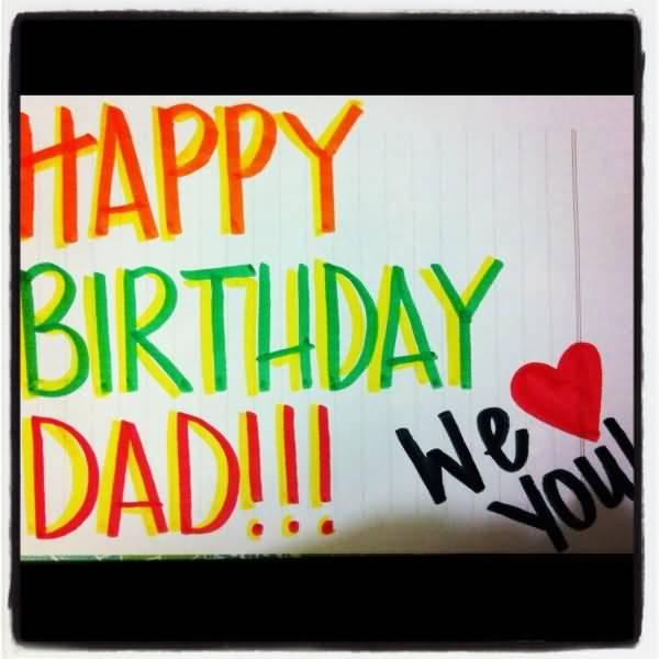 Happy Birthday Dad Message For Facebook