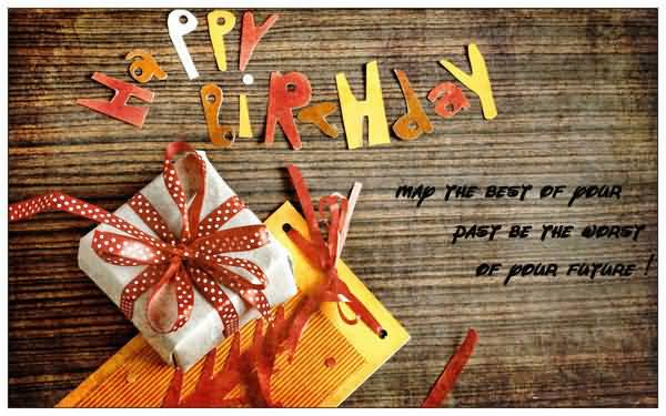 Happy Birthday Gift Greeting For Colleague Picture