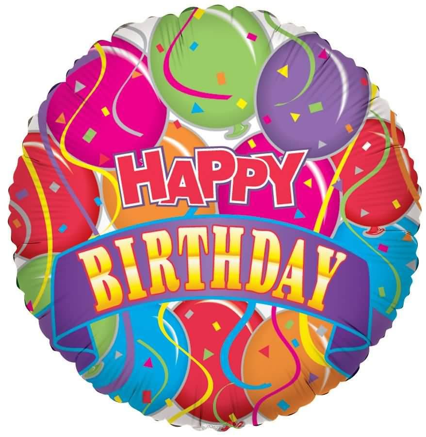 Happy Birthday Greeting Balloon Image