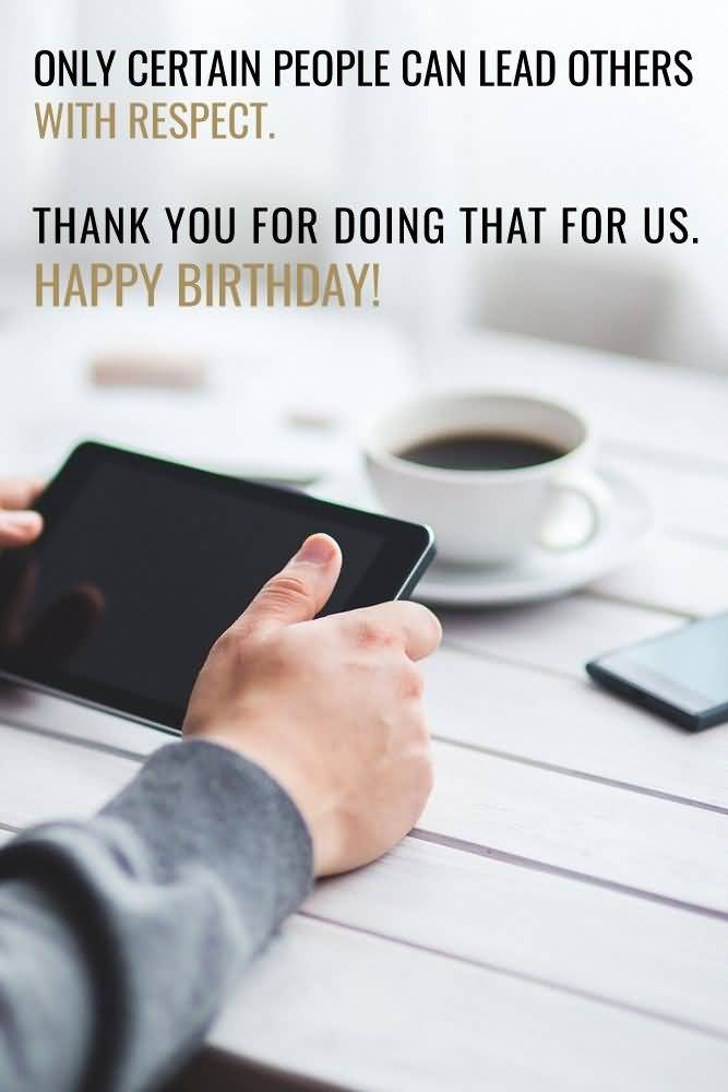 Happy Birthday Greeting Image For Great Boss