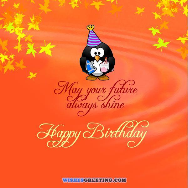 Happy Birthday May Your Future Always Shine