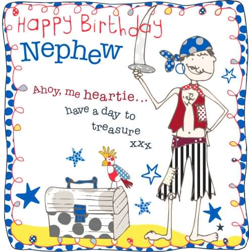 Happy Birthday Nephew Cute Birthday Greeting Card