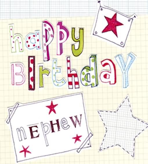Happy Birthday Nephew Greeting Card Image