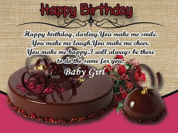 Happy Birthday Quotes For Baby Girl