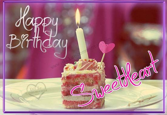 Happy Birthday Sweetheart Birthday Greeting Picture