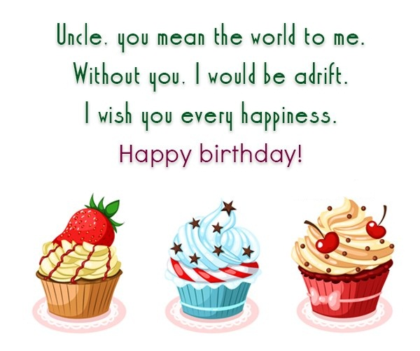 Happy Birthday Uncle I Wish You Every Happiness