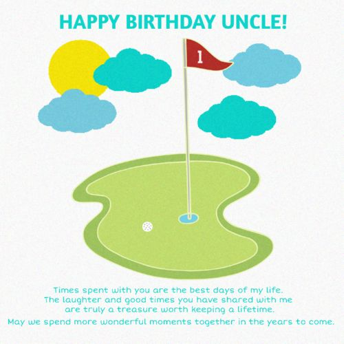 Happy Birthday Uncle The Best Day Of My Life