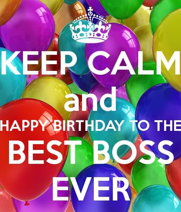Happy Birthday Wishes Best Boss