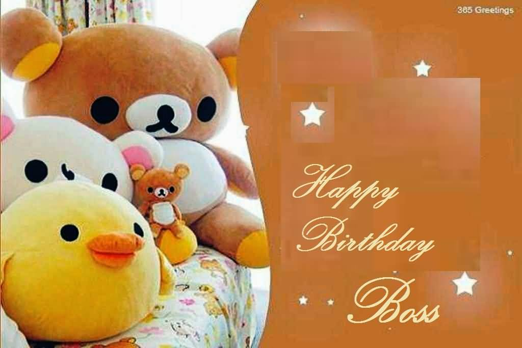 Happy Birthday Wishes For Awesome Boss