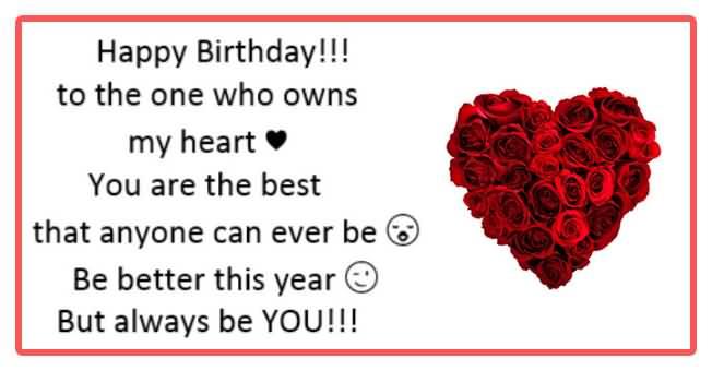 Happy Birthday Wishes For Boyfriend Quotes