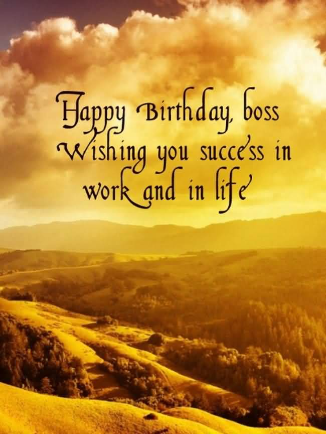 Happy Birthday Wishes For Fabulous Boss (2)