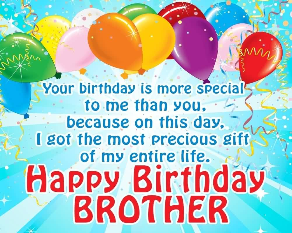 Happy Birthday Wishes Quotes For Brother