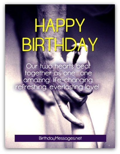 Happy Birthday Wishes Quotes & Greeting To My Love