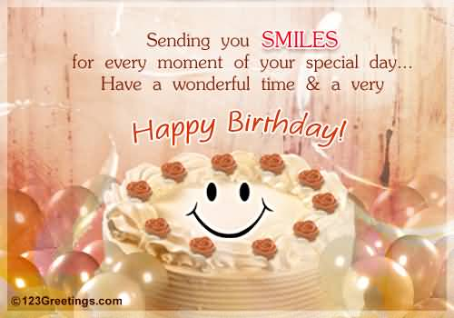 Have A Wonderful Time And A Very Happy Birthday Colleague