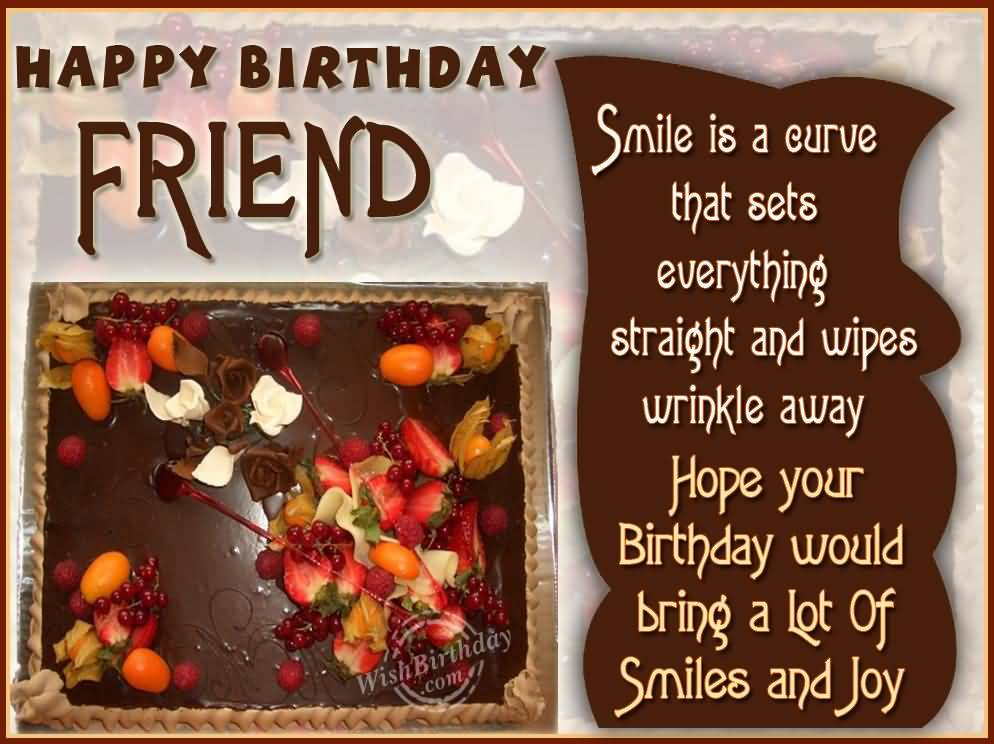 Hope Your Birthday Would Bring A Lot Of Smiles And Joy Happy Birthday Colleague