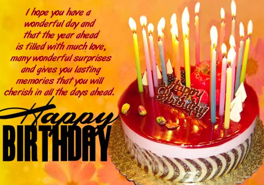 I Hope You Have A Wonderful Day Happy Birthday Colleague