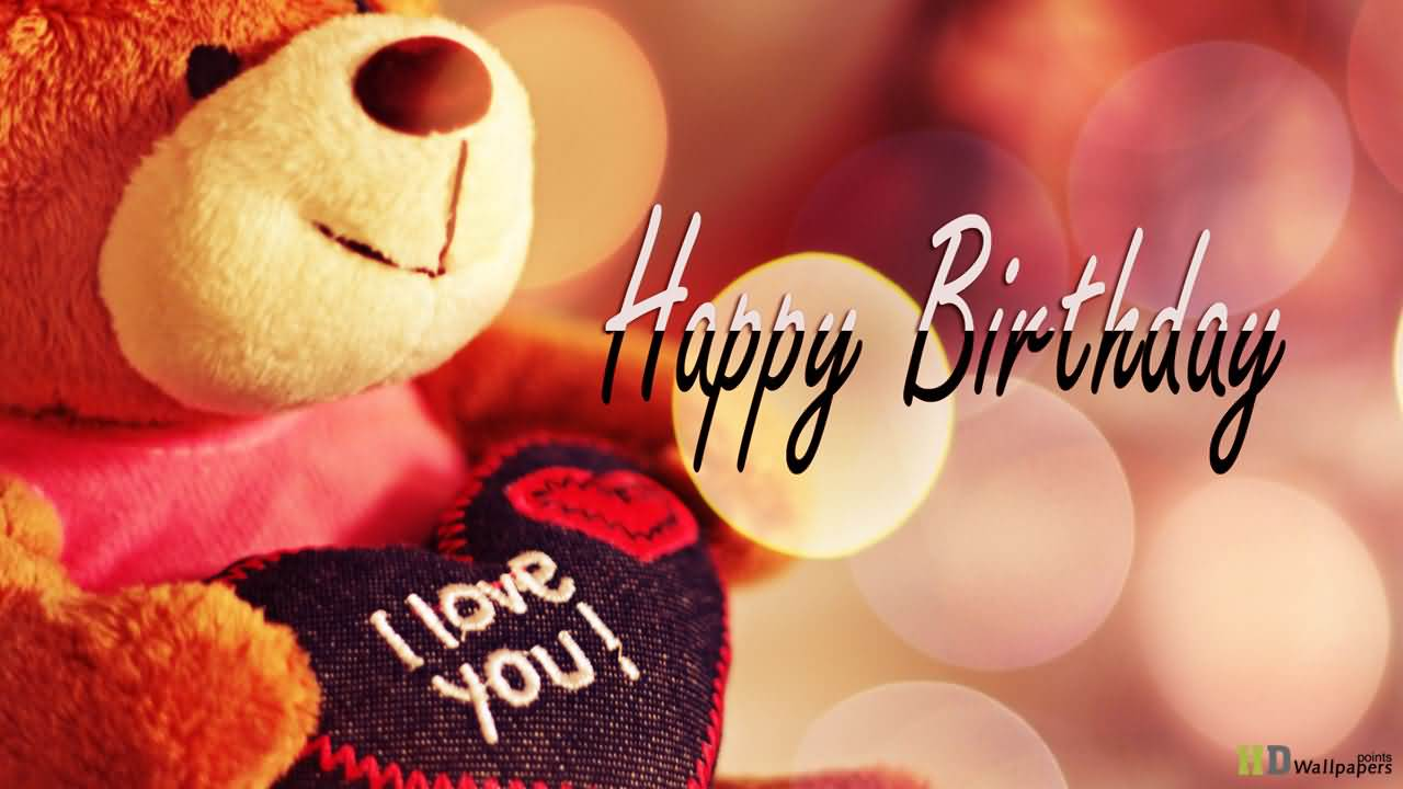 I Love You Happy Birthday Love