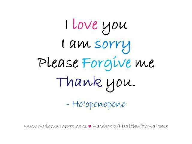 I Love You I Am Sorry Please Forgive Me Thank You Greeting Image