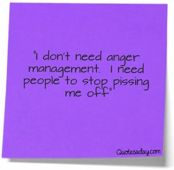 I Dont Need Anger Management I Need People To Stop Pissing Me Off 2