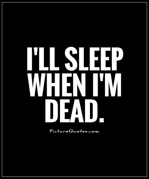 Sleeping Quotes
