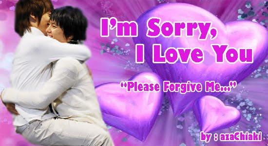 I'm Sorry I Love You Love Greeting Image