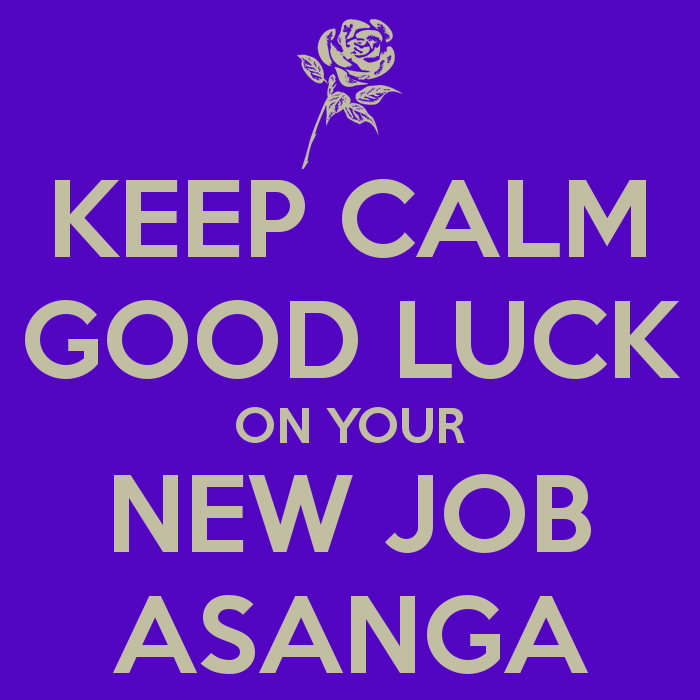 Keep Calm Good Luck On Your New Job Picture Good Luck Images