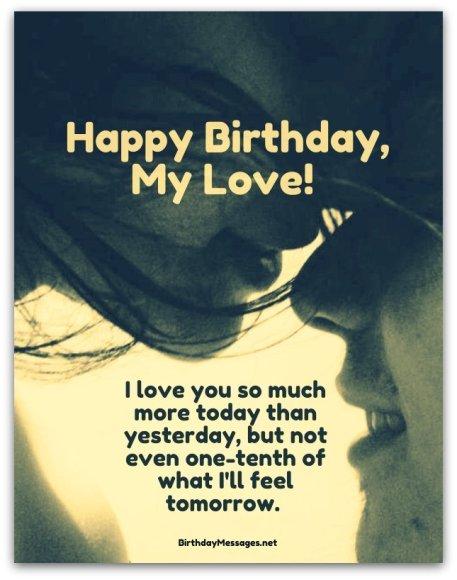 Love Happy Birthday Wishes Wallpaper