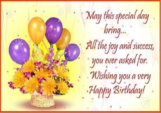 Many Many Happy Returns OF The Day Happy Birthday Boss