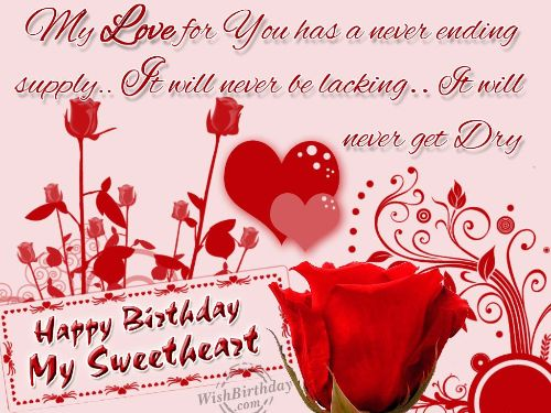 My Love Birthday Wishes And Greeting Picture