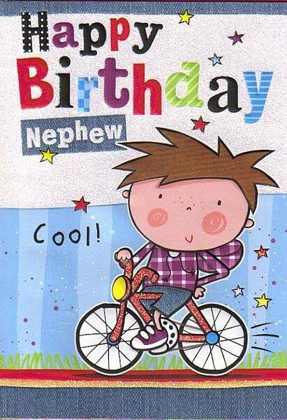 Perfect Happy Birthday Nephew Greeting Card