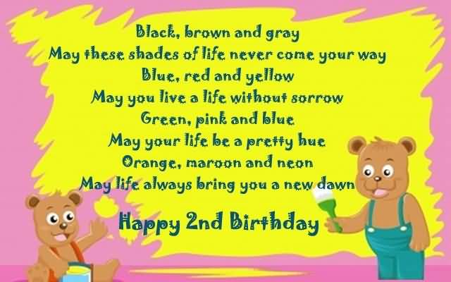 Poem For Little Baby Girl On 2nd Birthday