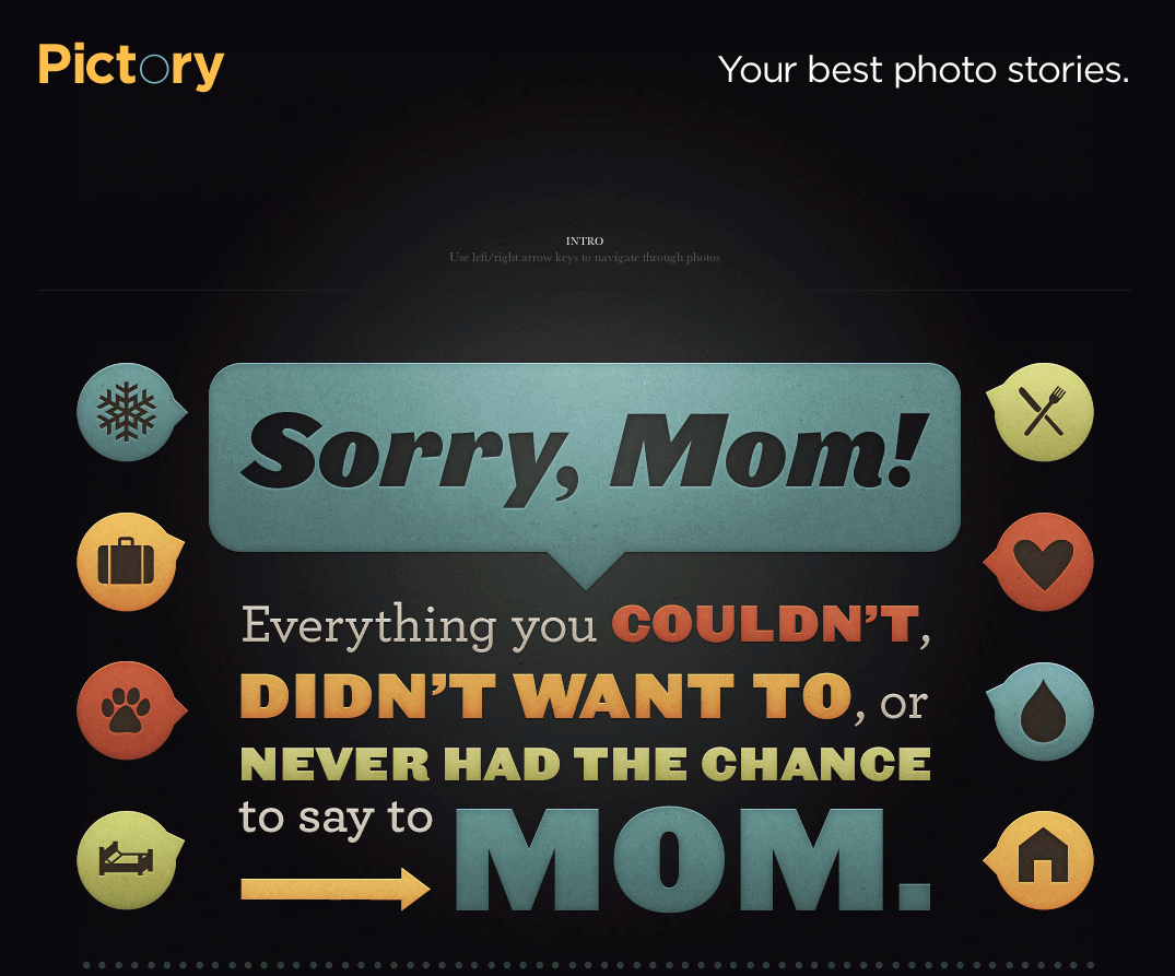Sorry Mom Message From Son Image
