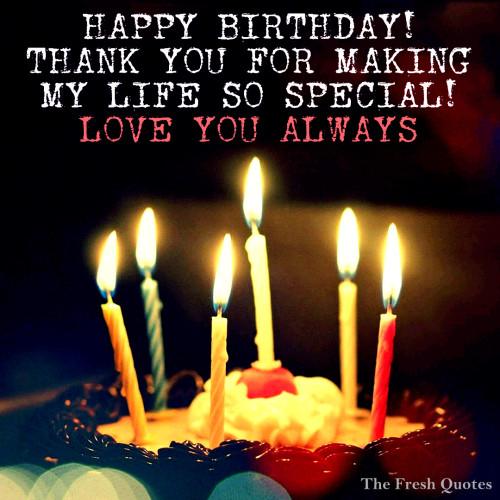 Special Love You Always Happy Birthday