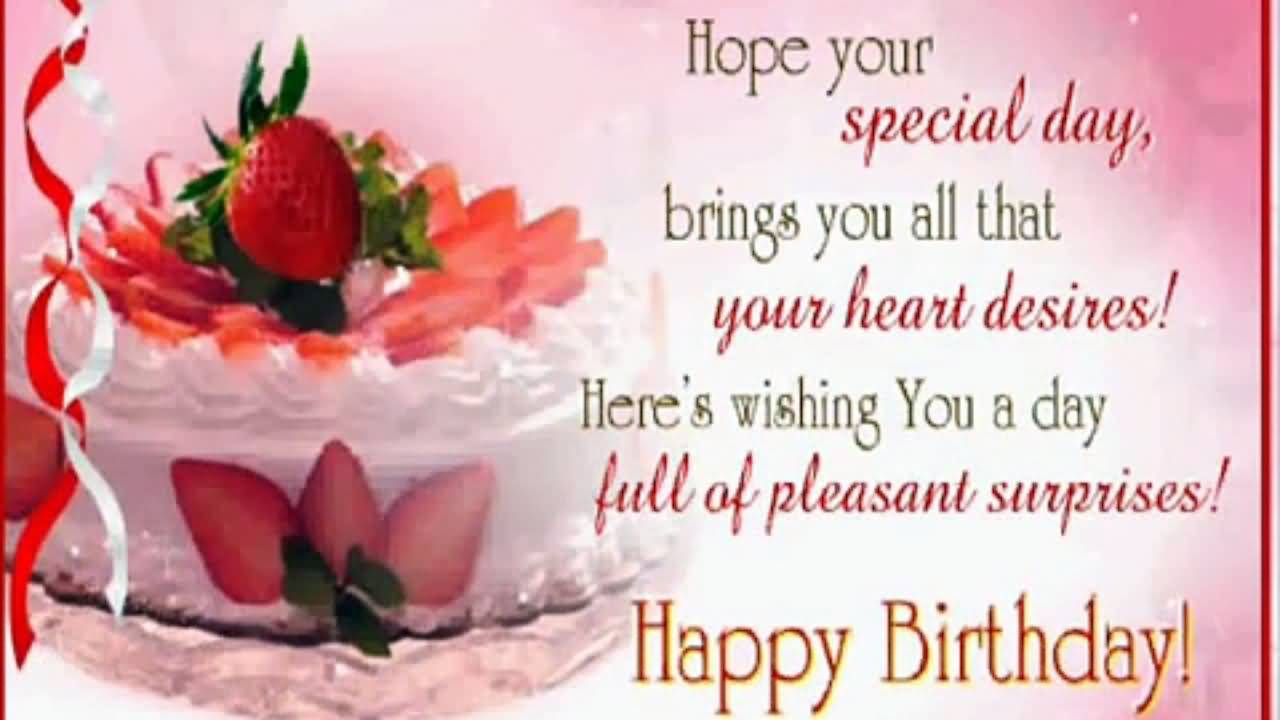 Super Birthday Wishes For Someone Special – Birthday Card for Someone Special