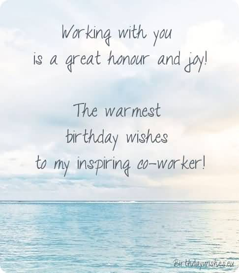 47 wonderful colleague birthday wishes greetings images picsmine the warmest birthday wishes to my inspiring colleague m4hsunfo