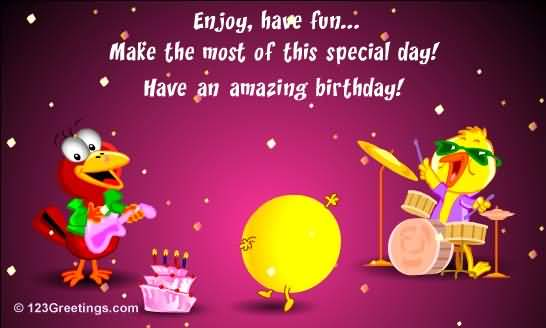 This Special Day Have An Amazing Birthday Colleague