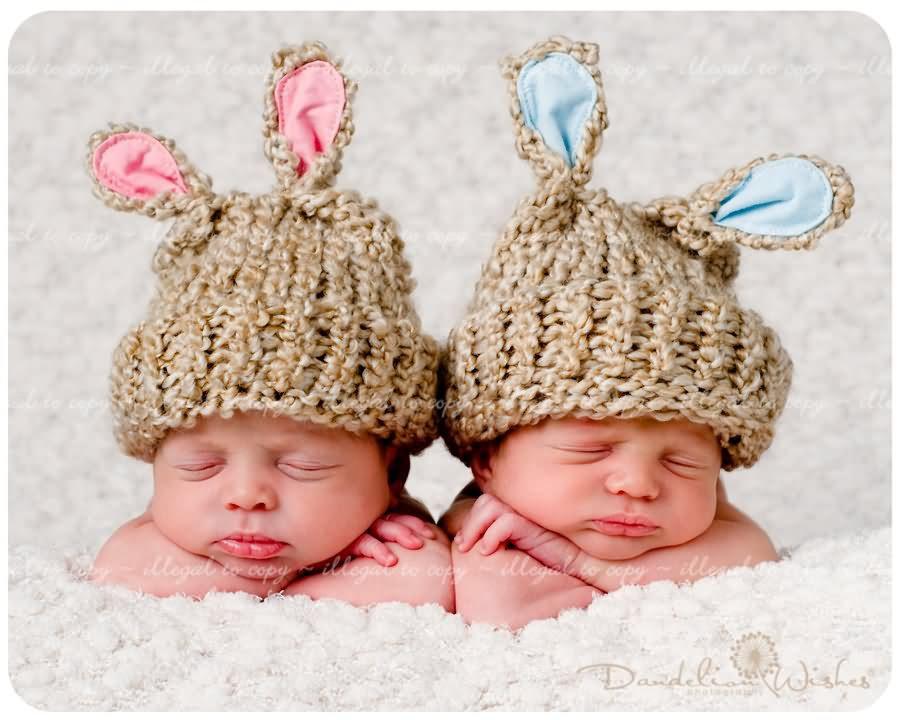 Twin Baby Wallpaper