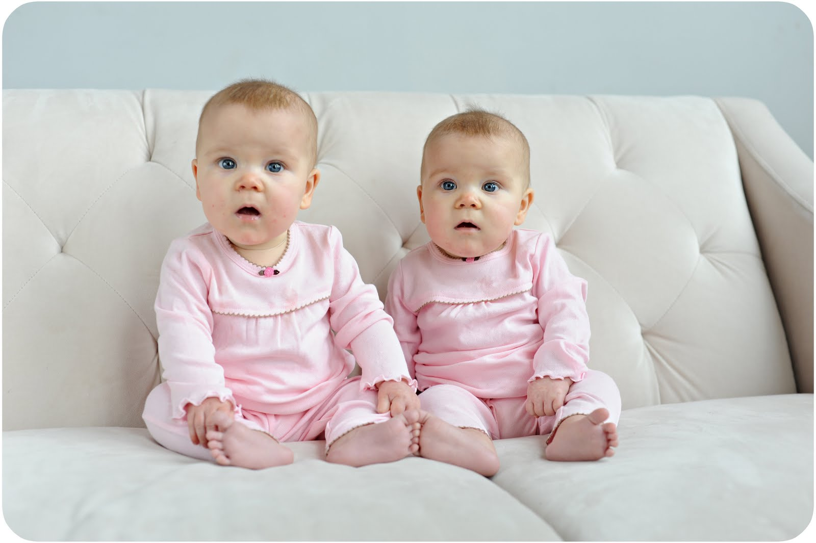 Two Babies Funny Recation Picture