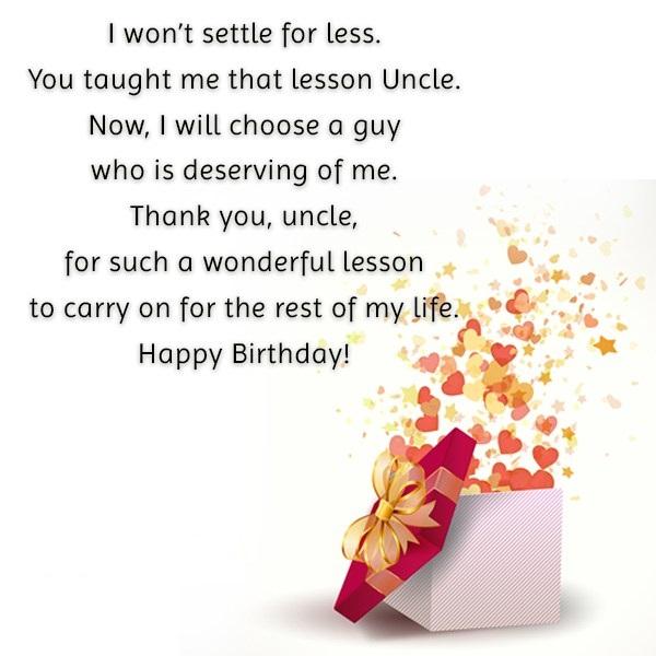 Uncle Happy Birthday Have A Wonderful Birthday