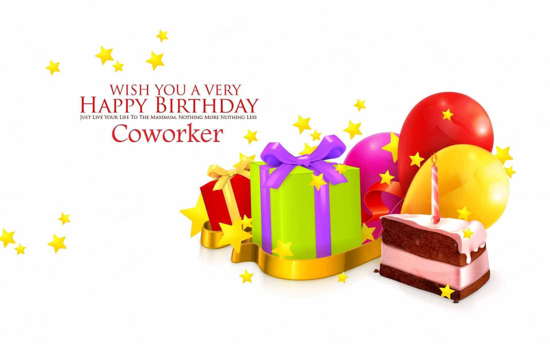 42 Nice Coworker Birthday Wishes Greetings Photos – Birthday Greetings for Coworkers