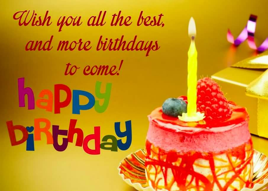 Wish You All The Best Happy Birthday Colleague