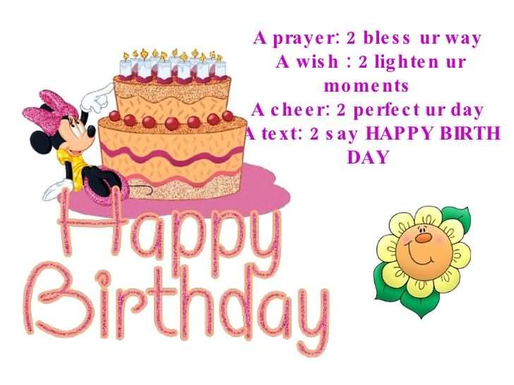 Wishing You A Fabulous Birthday Baby Girl